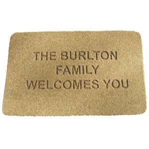 Personalised Textile Doormats