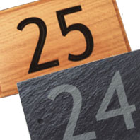 Door Number Signs