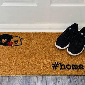 Printed Coir Doormat