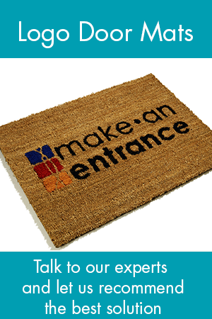 Choose a mat with your house name, logo or crest
