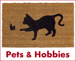 cat doormats and other pet designs too