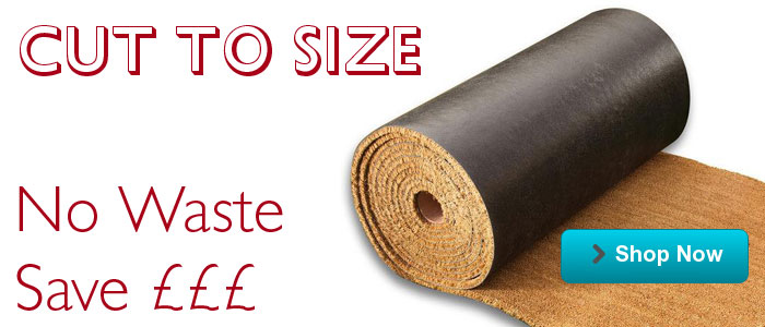Our Cut to Size Coir Matting comes in 3 grades, 6 thicknesses and many colours