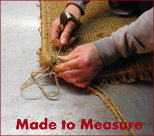 Our craftsmen can hand stitch a mat for your specific needs