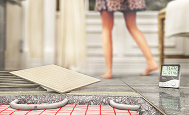 Underfloor Heating Door Mat