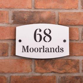 Acrylic House Name Sign