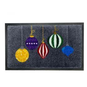 Christmas Bauble Doormat