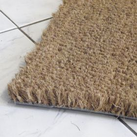 Budget PVC Backed Cut to Size Coir Matting - SAMPLE