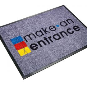 Carpet Logo Mat  - Custom Made to Order
