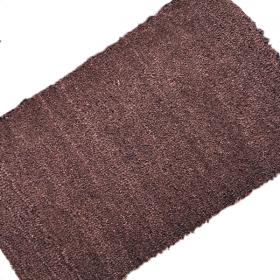 Dark Brown Coir Matting Sample
