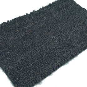 Grey Coloured Coir Matting - PVC Backed - 23mm