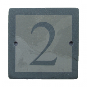 Grey Slate House Signs | Reverse Engraved