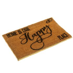 Home is our Happy Place Doormat - Biodegradable and Eco Friendly
