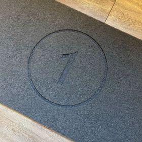 Personalised House Number Doormat