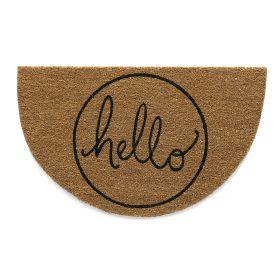 Hello Doormat - Hug Rug Eco Coir