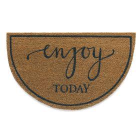Enjoy Doormat - Hug Rug Eco Coir