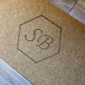 Personalised Synthetic Monogram Doormat