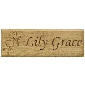 Lily Grace - Fairy Motif - Monotype Corsiva