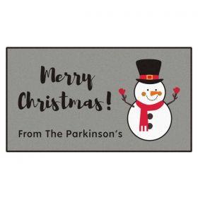 Personalised Christmas Doormat