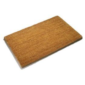 Modern Edge Plain Coir Doormat