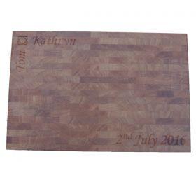 Personalised Oak Chopping Board