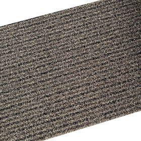 Outdoor Synthetic Scraper Doormat Brown