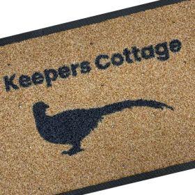 Personalised Pheasant Doormat