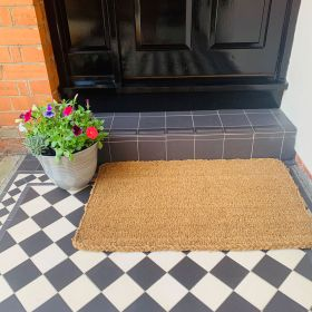 Large Coir Doormat - 40mm