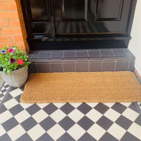 Patio Doormat - 25mm 120 x 45 Still