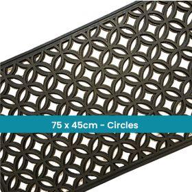 Rectangular Outdoor Rubber Doormat