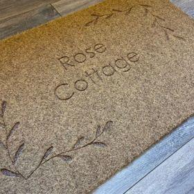 Personalised House Name Doormat