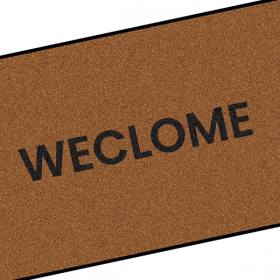 Weclome Doormat  immortalised by Still Game