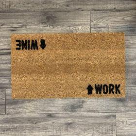 Wine Work Doormat