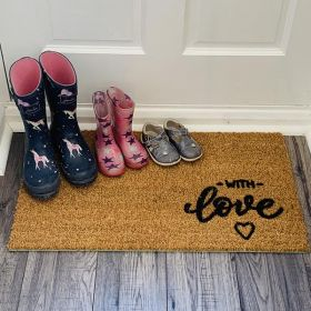 With Love Doormat