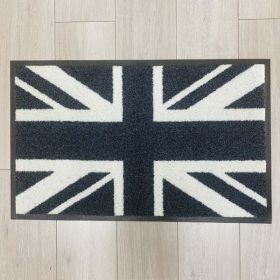 Black And White Union Jack Mat