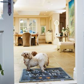 Hug Rug Who Let the Dogs In? - Pet 39