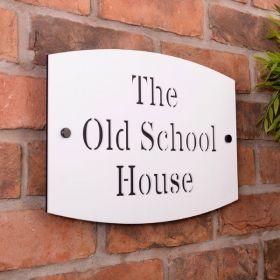 Large Acrylic House Name Sign