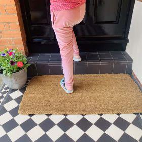 Large Coir Doormat - 30mm Life
