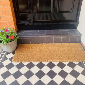 Patio Doormat - 25mm 120 x 45 Still