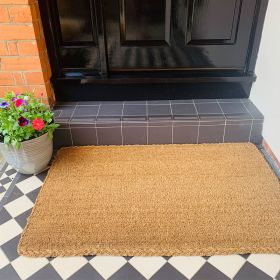 Large Coir Doormat - 25mm