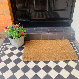 Large Coir Doormat - 35mm