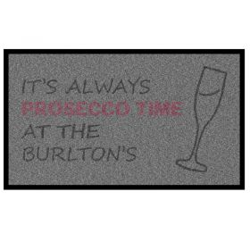 Personalised Prosecco Doormat Artwork