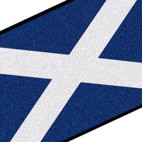 Scottish Flag Doormat