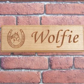 Personalised Stable Name Plate