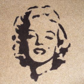 Synthetic Coir Logo Mat  - Custom Made to Order