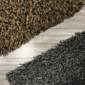 Our textile mats have an anti-slip rubber backing. Choose from 2 colours in 15mm (And another 72 in 12mm thick!)