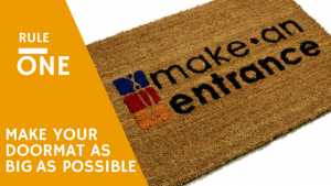Large Doormat from Make An Entrance