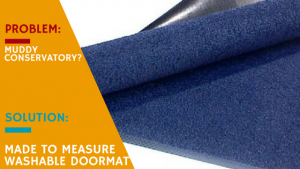 Made to Measure Washable Double Doormat