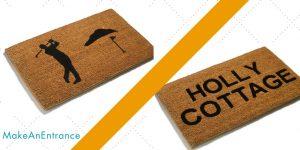 Design Your Own Door Mat Traditional Coir