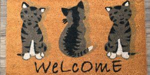Welcome-Cats-Doormat