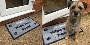 Outdoor Personalised Pet Doormat